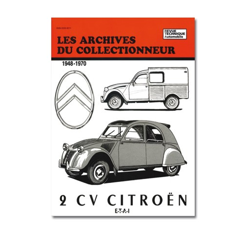revue technique 2cv 1948 a 70 archive collectionneur. Black Bedroom Furniture Sets. Home Design Ideas